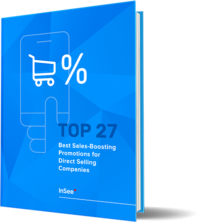 eBook cover - TOP 27 Best Sales-Boosting Promotions for Direct Selling Companies